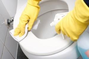 dezynfekcja toalety