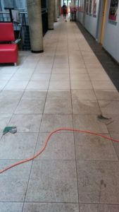 czyszczenie gresu w szkole Euro Glance
