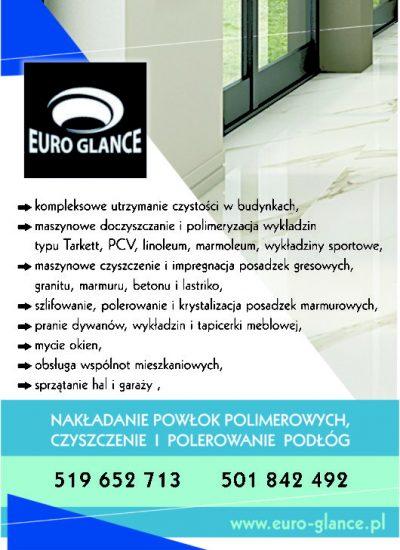 Euro Glance sprzątanie Trójmiasto